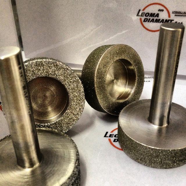 LEOMA DIAMANT - frese per spianatura diamante elettrodepositato