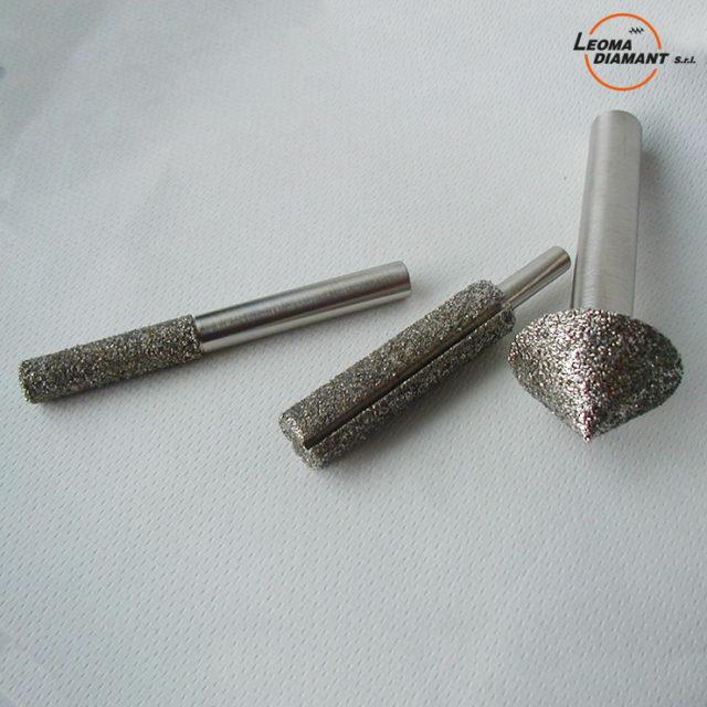 LEOMA DIAMANT - frese speciali diamante elettrodepositato