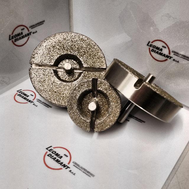 LEOMA DIAMANT - lamatori diamante elettrodepositato
