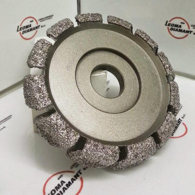 LEOMA DIAMANT - mola per lavorazione materiale di attrito diamante elettrodepositato