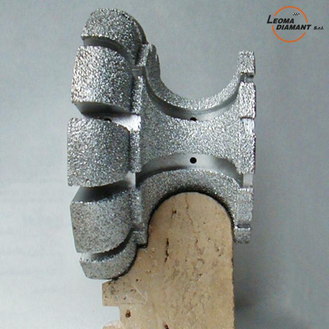 LEOMA DIAMANT - mola per sagomatura profili diamante elettrodepositato