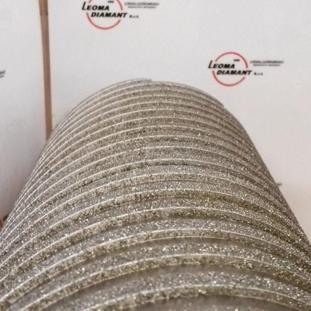 LEOMA DIAMANT - rullo per vetroresina diamante elettrodepositato