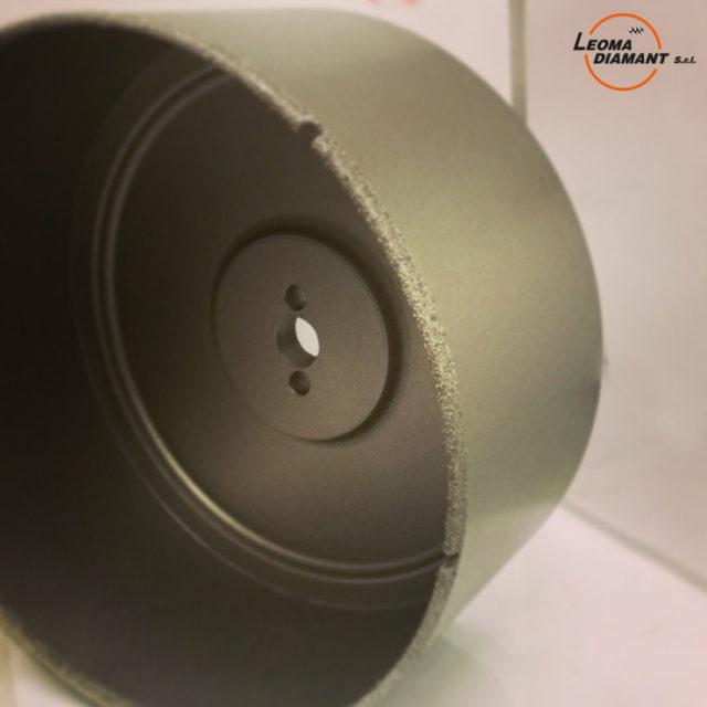 LEOMA DIAMANT - sega a tazza speciale diamante elettrodepositato